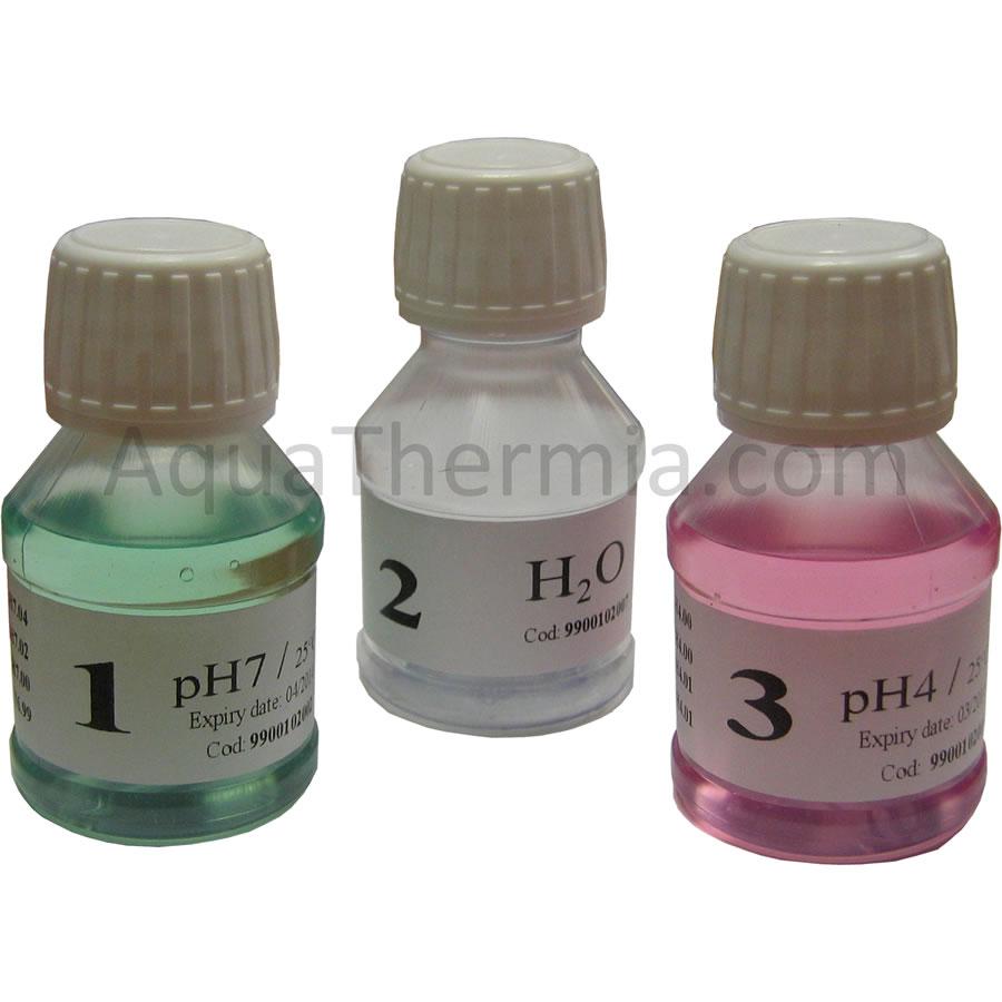 Solutions tampon pour l 39 talonnage d 39 lectrodes ph - Mettre un tampon pour la piscine ...